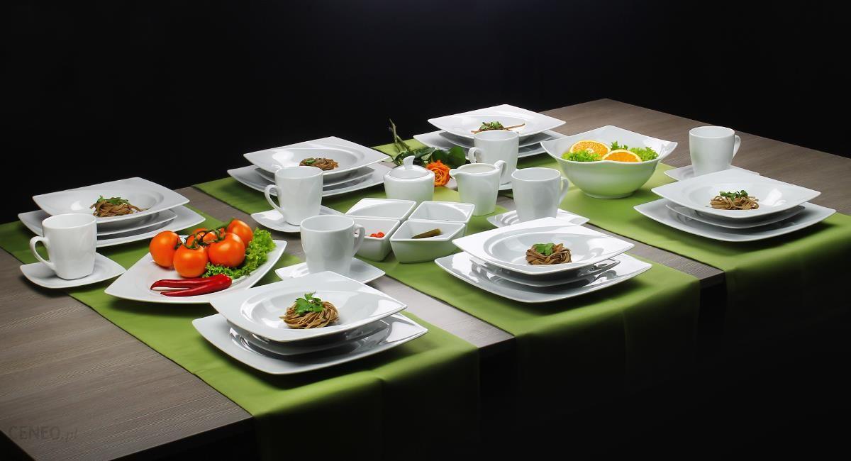 Lubiana Serwis Obiadowo Kawowy Celebration Dekbiała 12 92 Elem