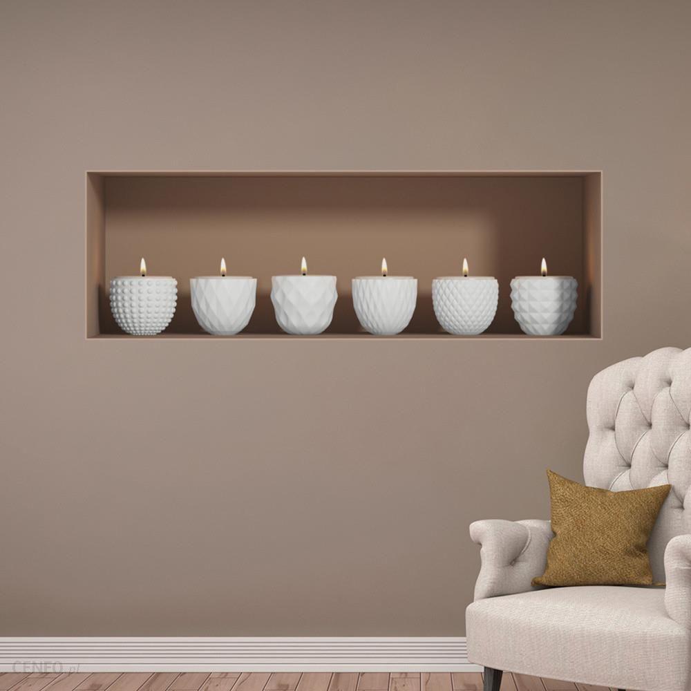 Ambiance Naklejka Na ścianę 3d Candles Opinie I Atrakcyjne Ceny Na