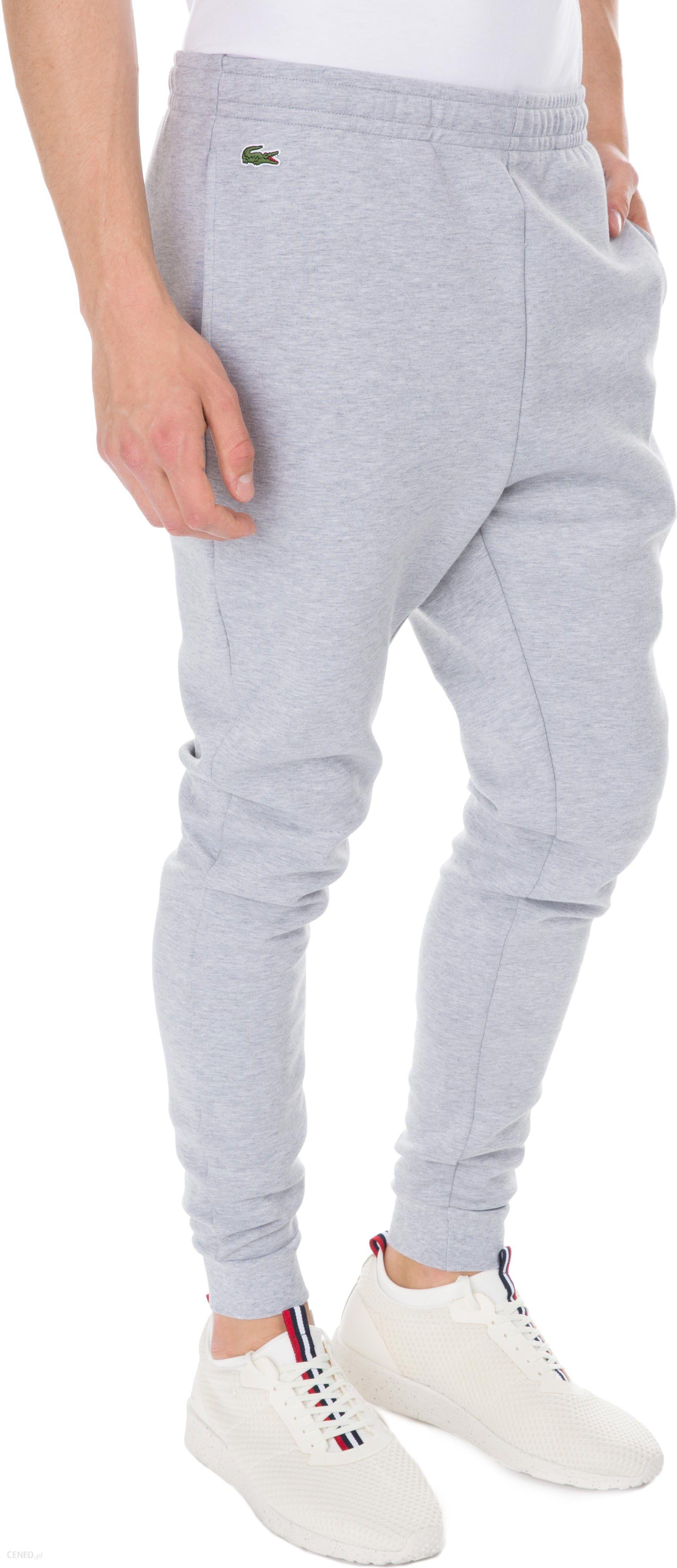 a6b8d433d00a06 Lacoste Spodnie dresowe Szary M - Ceny i opinie - Ceneo.pl