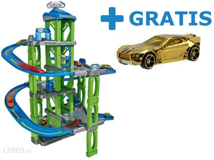 Majorette Garaż Zielony Złote Autko Hot Wheels 9996z Ceny I