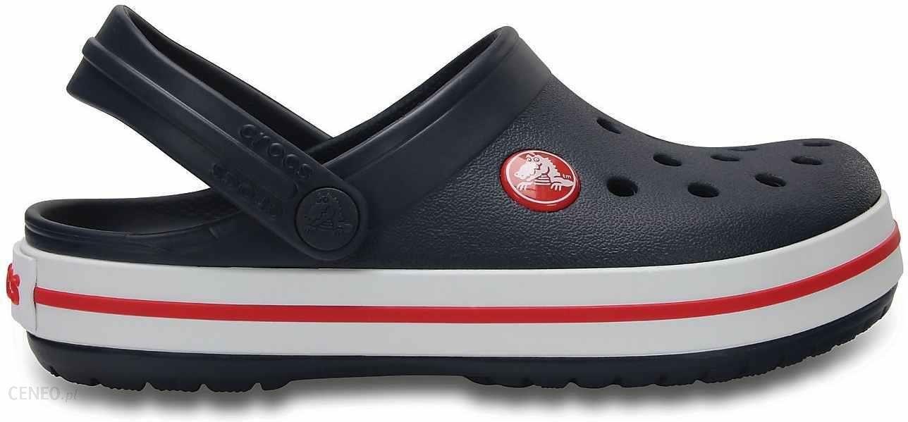 e04383a64ef1d Crocs Buty Crocband Clog K Navy Red C7 23-24 - Ceny i opinie - Ceneo.pl