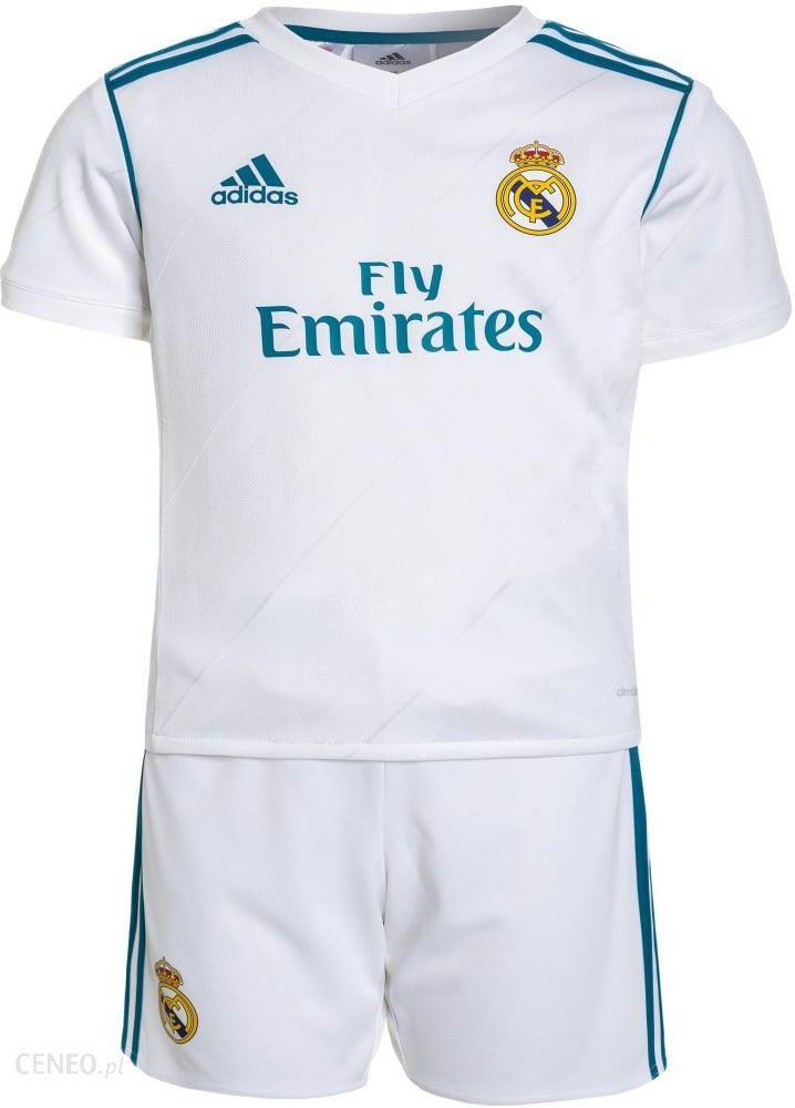 Adidas Performance REAL MADRID SET Artykuły klubowe whitevivid teal Ceny i opinie Ceneo.pl