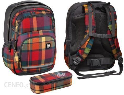 ff52e5ba7414e Hama Plecak Młodzieżowy All Out Blaby Woody Orange Z Przybornikiem  HA-138302 T PO -