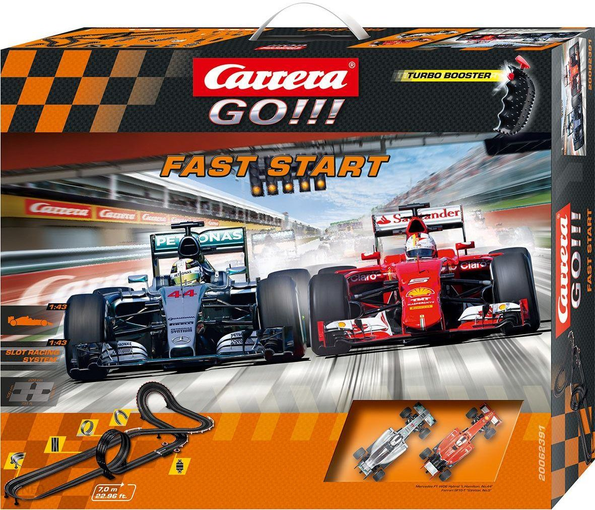 Spielzeugautos Carrera Tor wyścigowy PLUS Power Lap