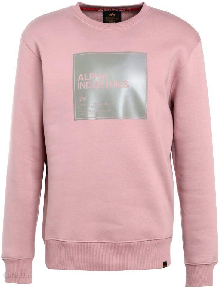Alpha Industries Bluza silver pink