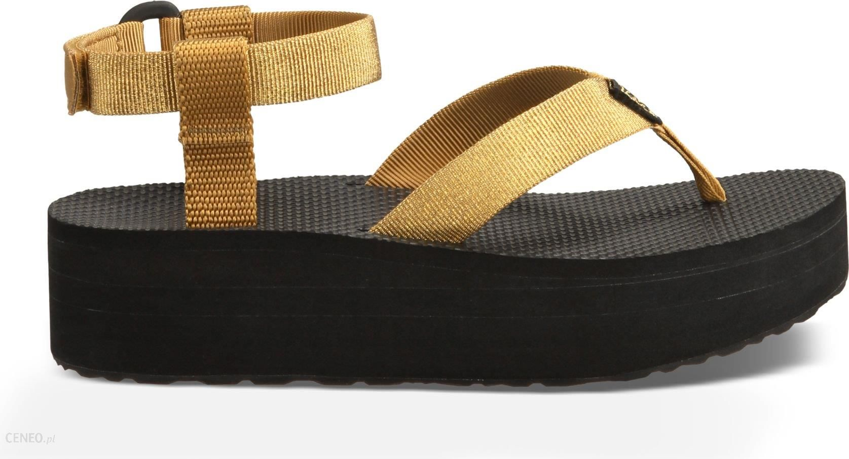 cd576f41e1a TEVA Sandały WS Flatform Sandal 38 (1008843-GOLD-7) - Ceny i opinie ...