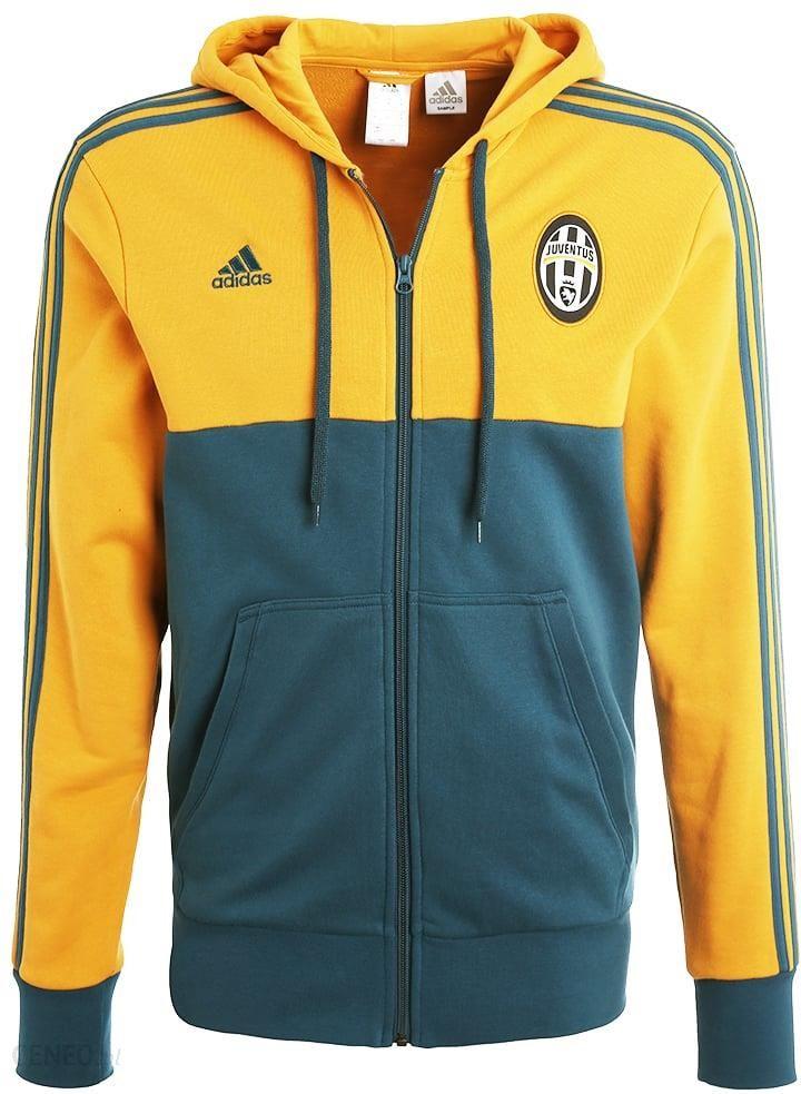 adidas Performance JUVENTUS TURIN Bluza rozpinana yellow