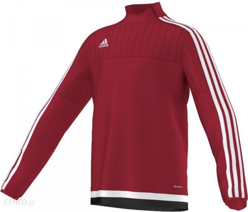 Adidas Bluza treningowa Tiro 15 Junior Czerwona, 164 (M64022164) Ceny i opinie Ceneo.pl