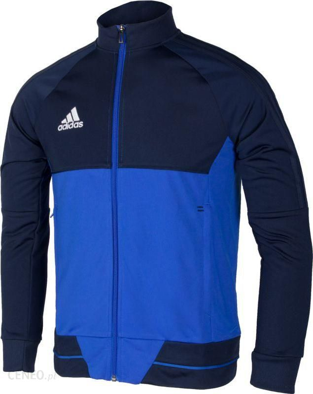 Adidas Bluza treningowa Tiro 17 Jacket Junior Niebiesko granatowa, 152 (BQ2610152) Ceny i opinie Ceneo.pl