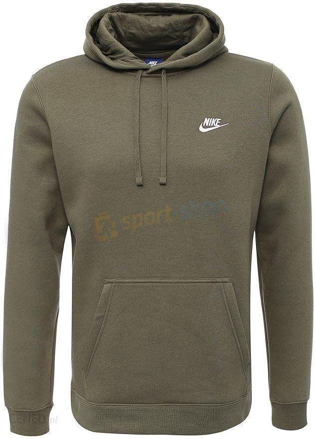767920e91 Bluza męska NSW Hoodie Club Nike (oliwkowa) - Ceny i opinie - Ceneo.pl