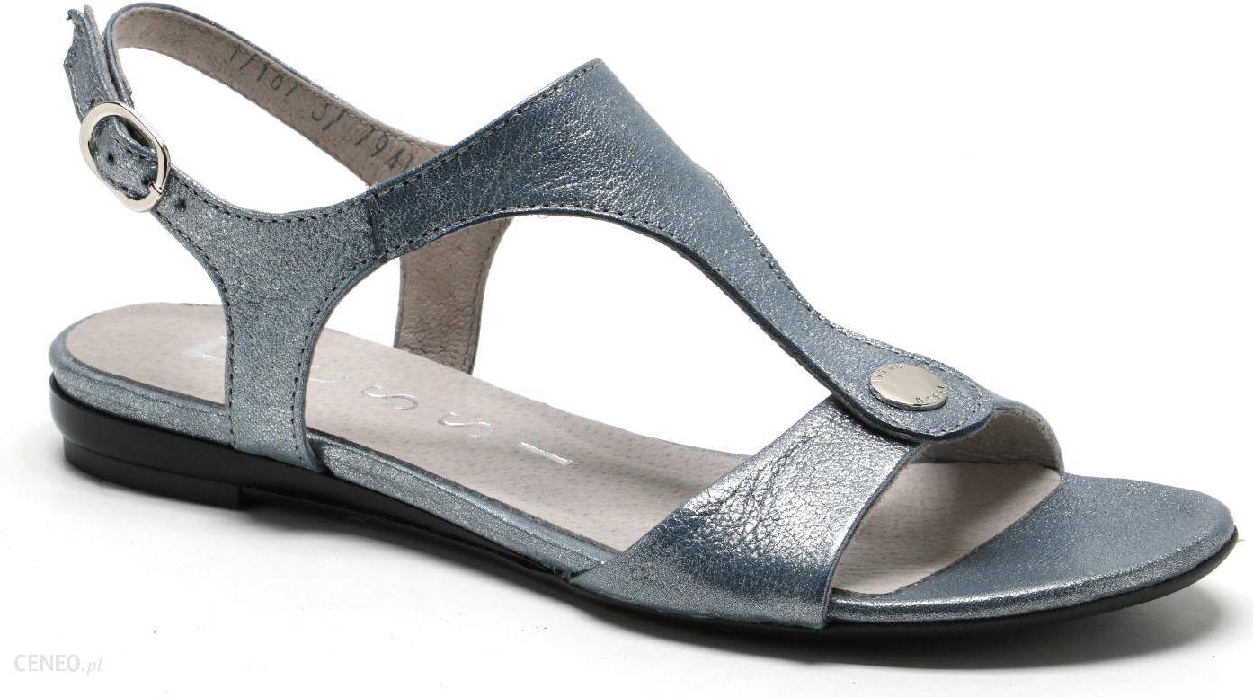 Sandały NESSI 24101 Granat Lizaro