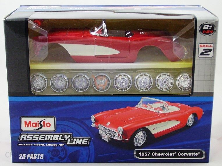 Maisto Model Do Skladania 1957 Chevrolet Corvette 1 24 Ceny I Opinie Ceneo Pl