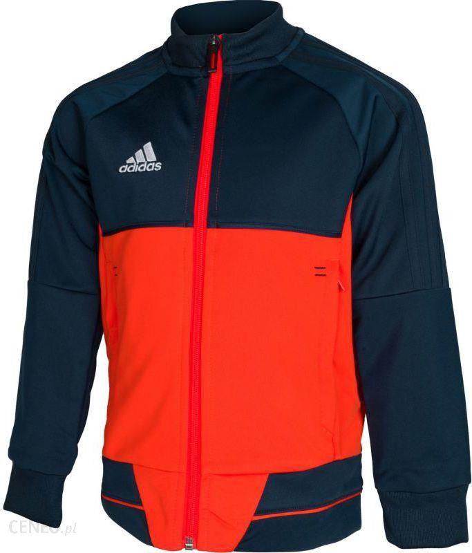 Adidas Bluza reprezentacyjna Tiro 17 Junior Granatowo pomarańczowa, 152 (BQ2614152) Ceny i opinie Ceneo.pl