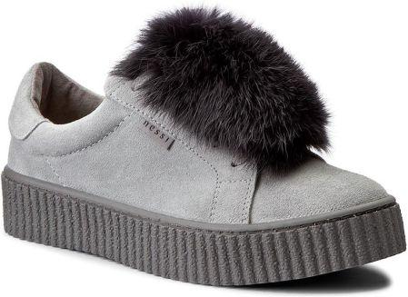 5b31362139fc Podobne produkty do Damskie slip on z futerkiem szare Big Star Y274478.  Sneakersy NESSI - 17111 Szary ...