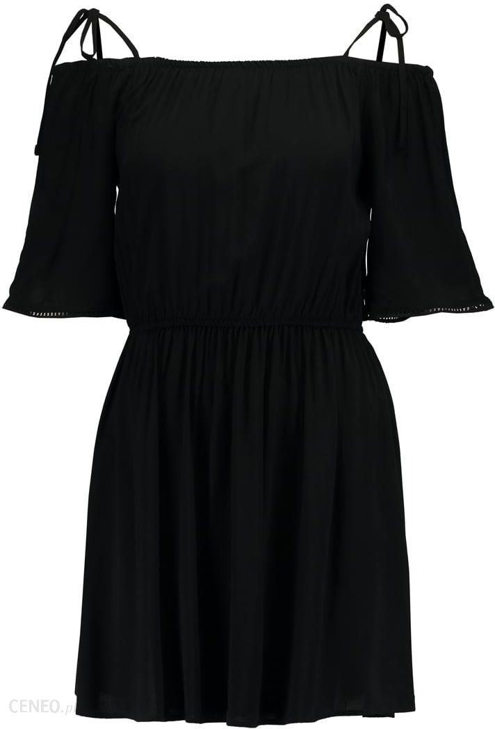 4d96ca5491 Pieces PCAFIA COLD SHOULDER Sukienka letnia black - Ceny i opinie ...