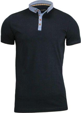Koszulka polo Brave Soul TSBRSSS17CHIMERAInavy - Ceny i opinie T-shirty i koszulki męskie JVJI