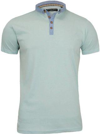 Koszulka polo Brave Soul TSBRSSS17CHIMERAIblue - Ceny i opinie T-shirty i koszulki męskie ESQZ