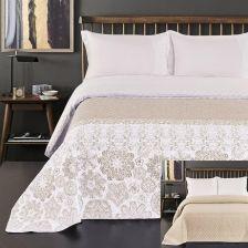 Narzuta Na łóżko Alhambra 200x220 Beżowy Decoking Opinie I