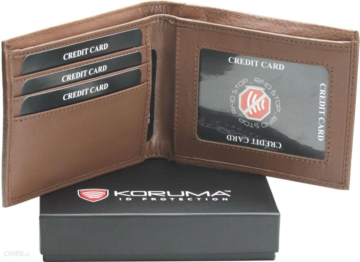 e2dfed23f060a Portfel Slim +100% Ochrona Kart Zbliżeniowych Rfid - Ceny i opinie ...