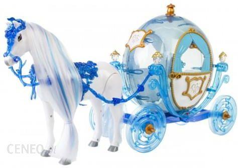 Barbie Kareta Chodzący Koń Kraina Lodu Duża Karoca