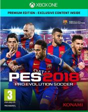 Pro Evolution Soccer PES 2018 Premium Edition (Gra Xbox One)