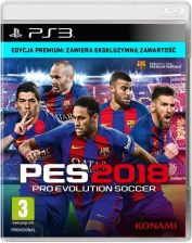 Pro Evolution Soccer PES 2018 Premium Edition (Gra PS3)