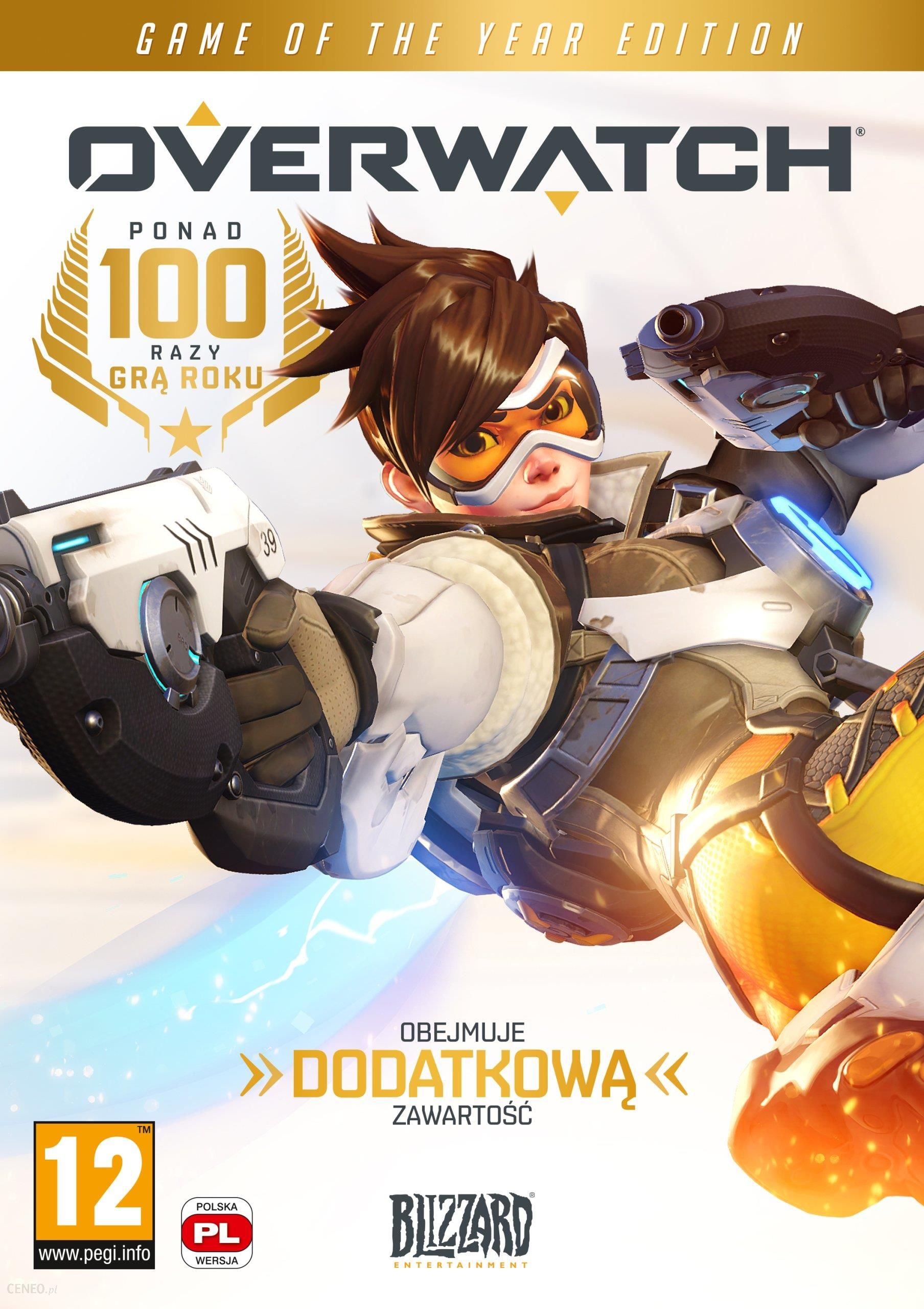Overwatch Game Of The Year Gra Pc Ceneo Pl