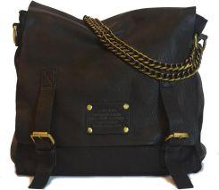 6462556263f2a Czarna torba skórzana vintage O My Bag Sleazy Jane
