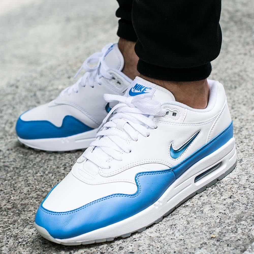 purchase cheap 5822e e07d3 ... inexpensive buty nike air max 1 premium sc jewel university blue 918354  102 23d0b ecf43