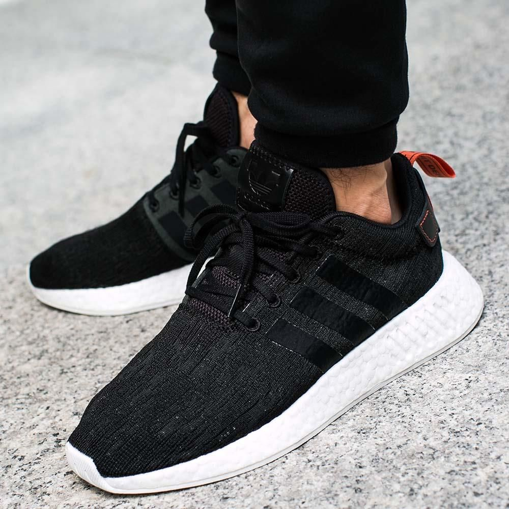 new styles b753a 8543f ... Primeknit Mens Running Black-Black-Future Harvest  photo photo photo   Buty adidas NMD R2 ...