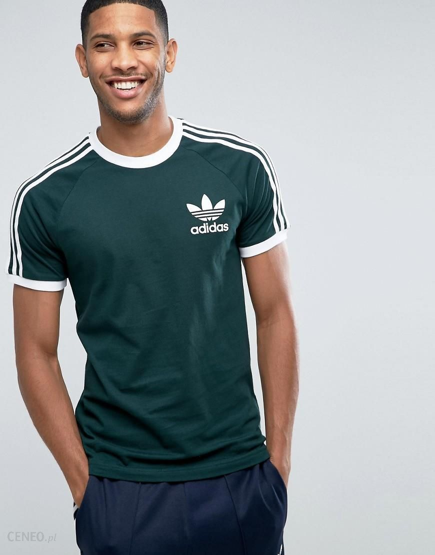 Adidas Originals California T Shirt In Green BQ7559 Green Ceneo.pl