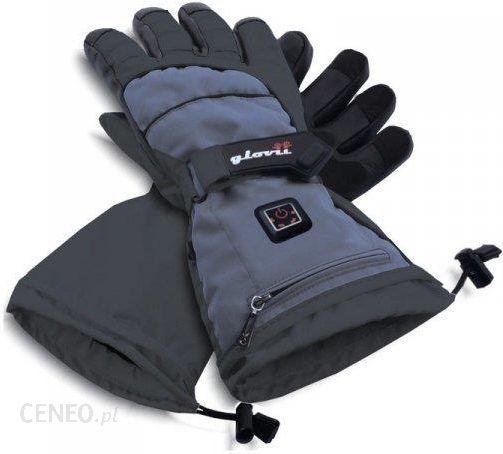 Rękawice narciarskie ogrzewane elektrycznie GS5 Glovii (czarne) sklep Sport Shop.pl