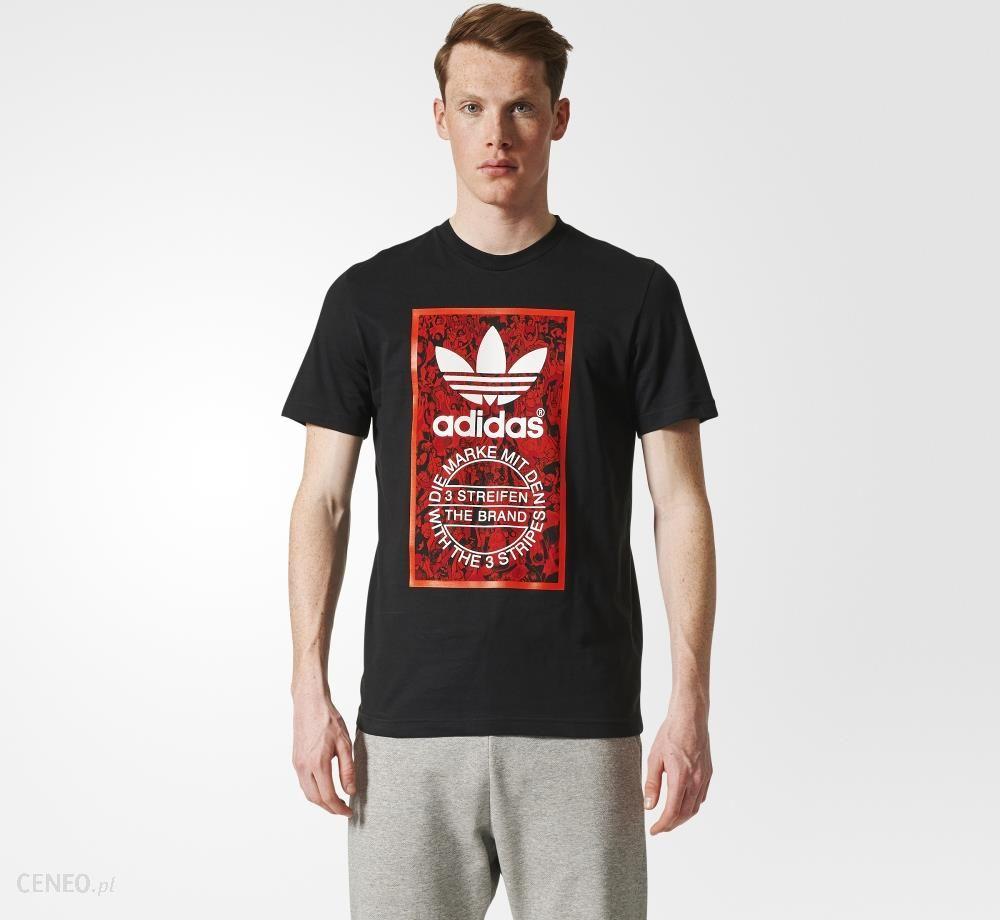 renomowana strona najnowszy cała kolekcja Koszulka adidas Tongue Label (BS3310)