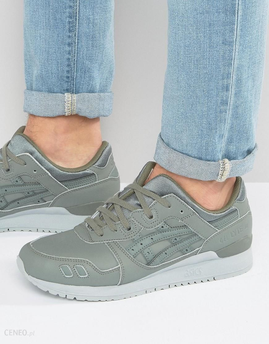Asics Gel Lyte III Leather Trainers In Green H7K3L 8181 Green Ceneo.pl