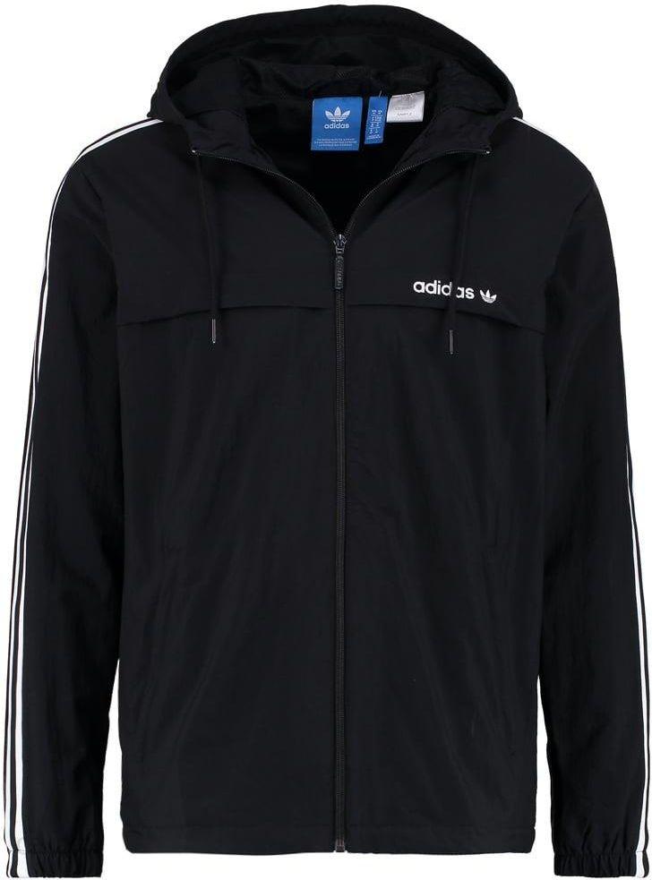 czarna kurtka wiosenna adidas