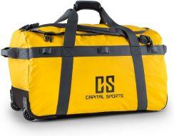 587ea3ae37 Capital Sports Travel L Torba podróżna 90l Plecak Walizka na kółkach  wodoodporna żółta