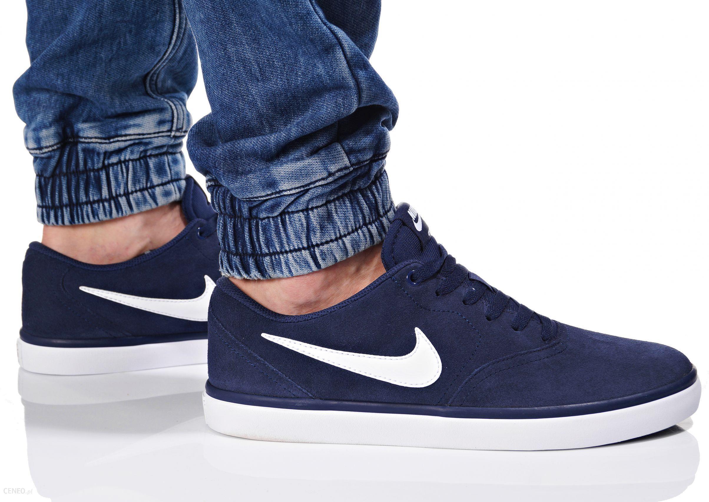 sneakersy męskie Nike Buty Sb Check Solar niebieskie 843895 400