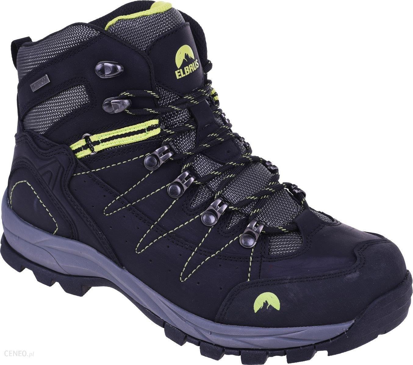 Buty trekkingowe ELBRUS Buty m?skie Talon Mid WP Black r. 46 Ceny i opinie Ceneo.pl