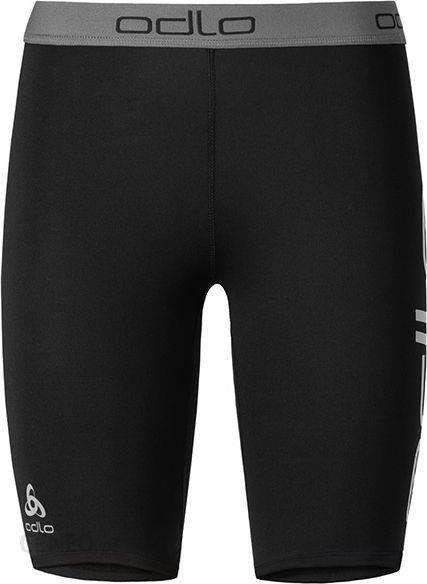 Black Odlo Sliq Sports Shorts