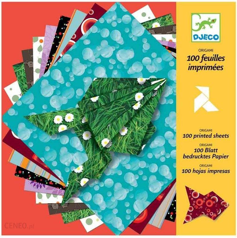 Origami Blaetter , Djeco Papier Origami Zestaw 100 Kartek Dj Ceny I Opinie