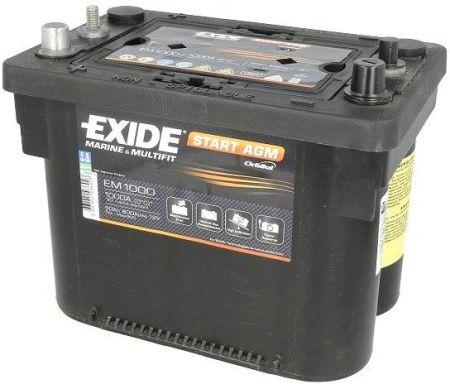 Exide EM1000/starter batteria 50/Ah