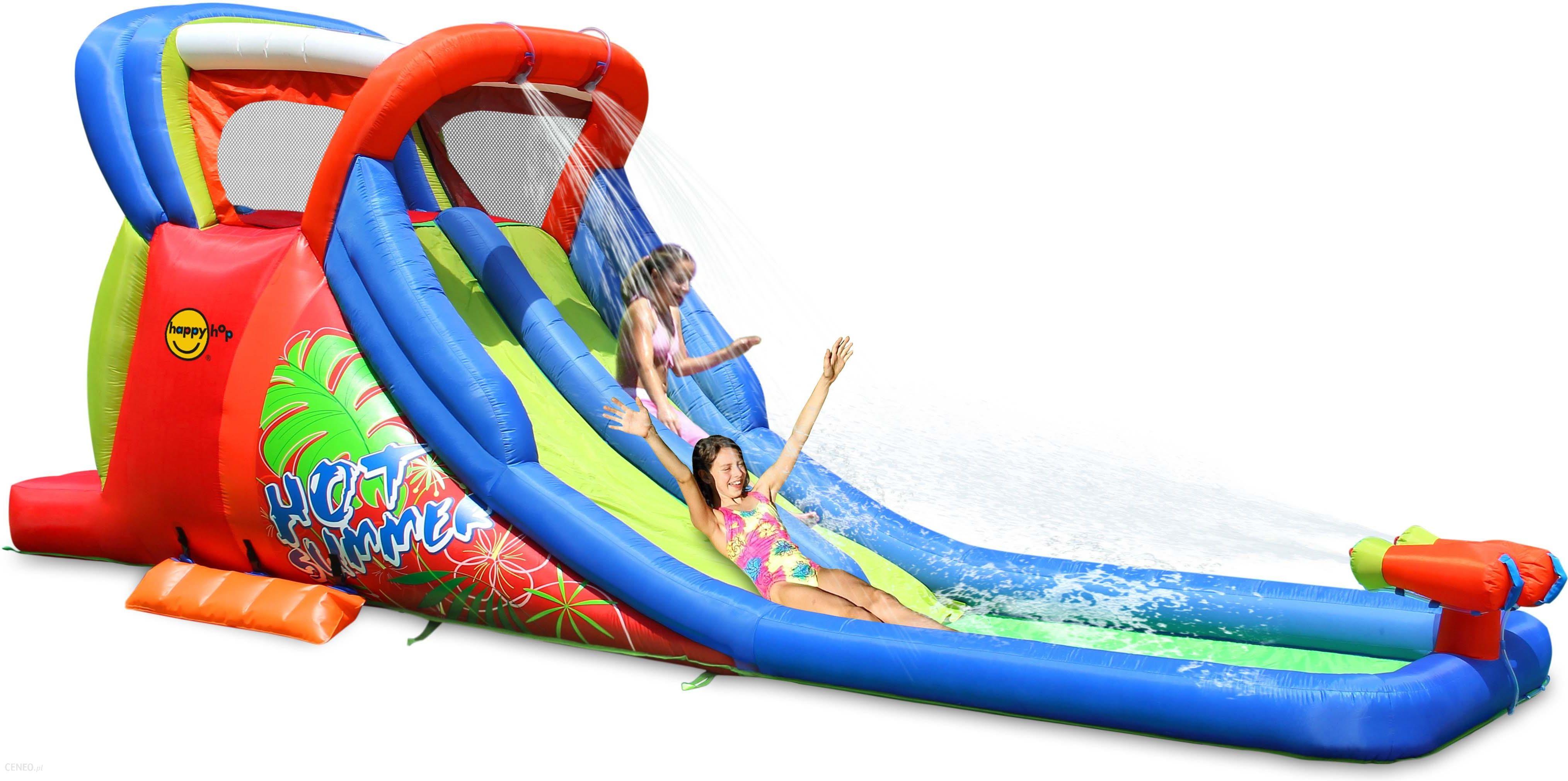 Super Happyhop Dmuchana Zjeżdżalnia Wodna Hot Summer (D9129) - Ceny i AN21