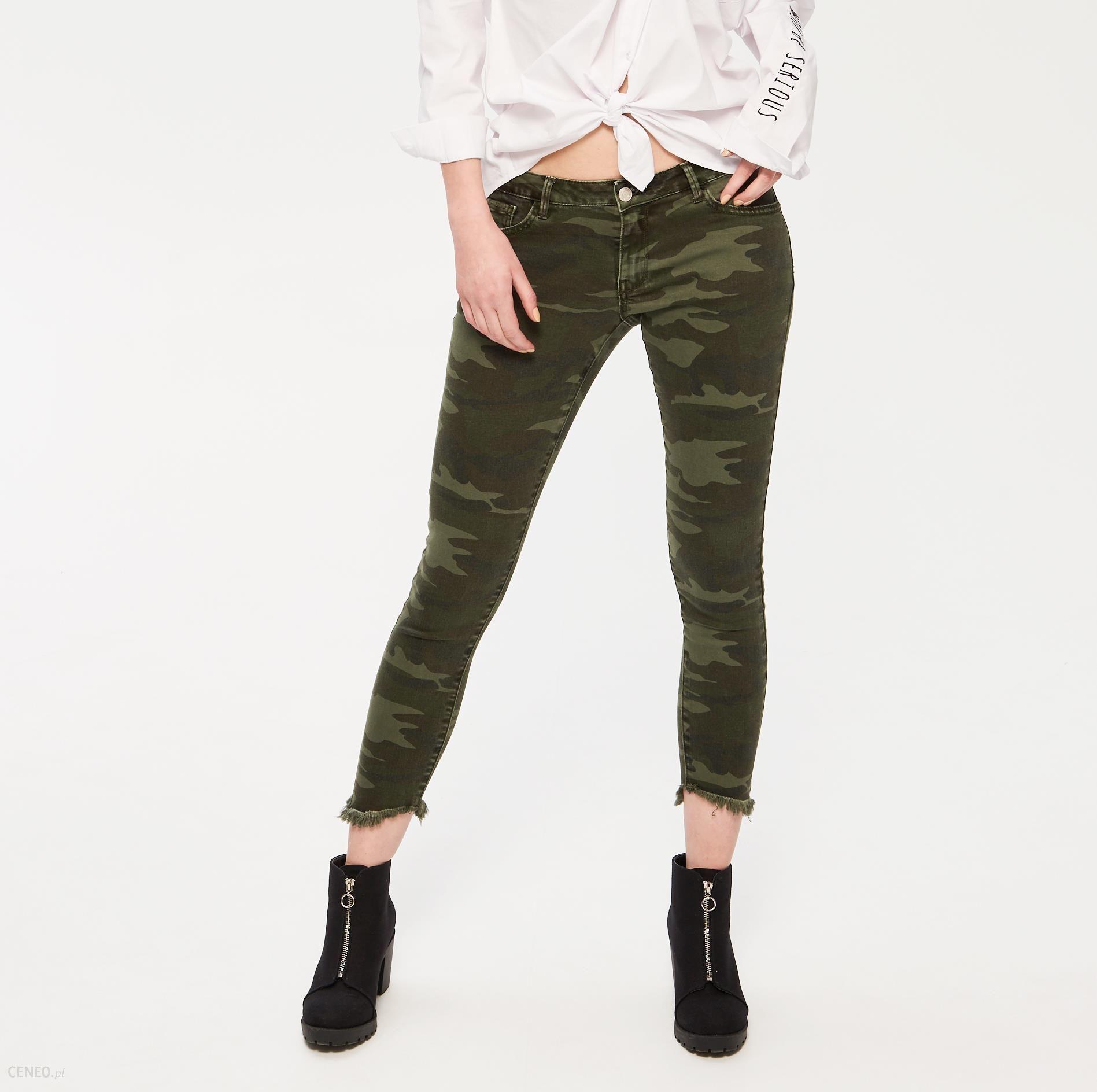 56590bb9145961 Sinsay - Jeansowe spodnie moro - Wielobarwn - damski - Ceny i opinie ...