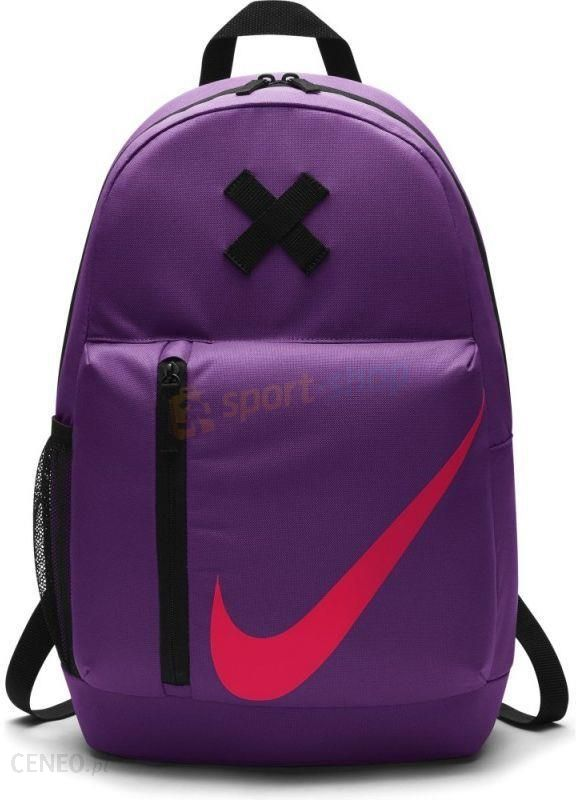 9b74114c11173 Plecak Nike Young Elemental Backpack Fioletowy - Ceny i opinie ...