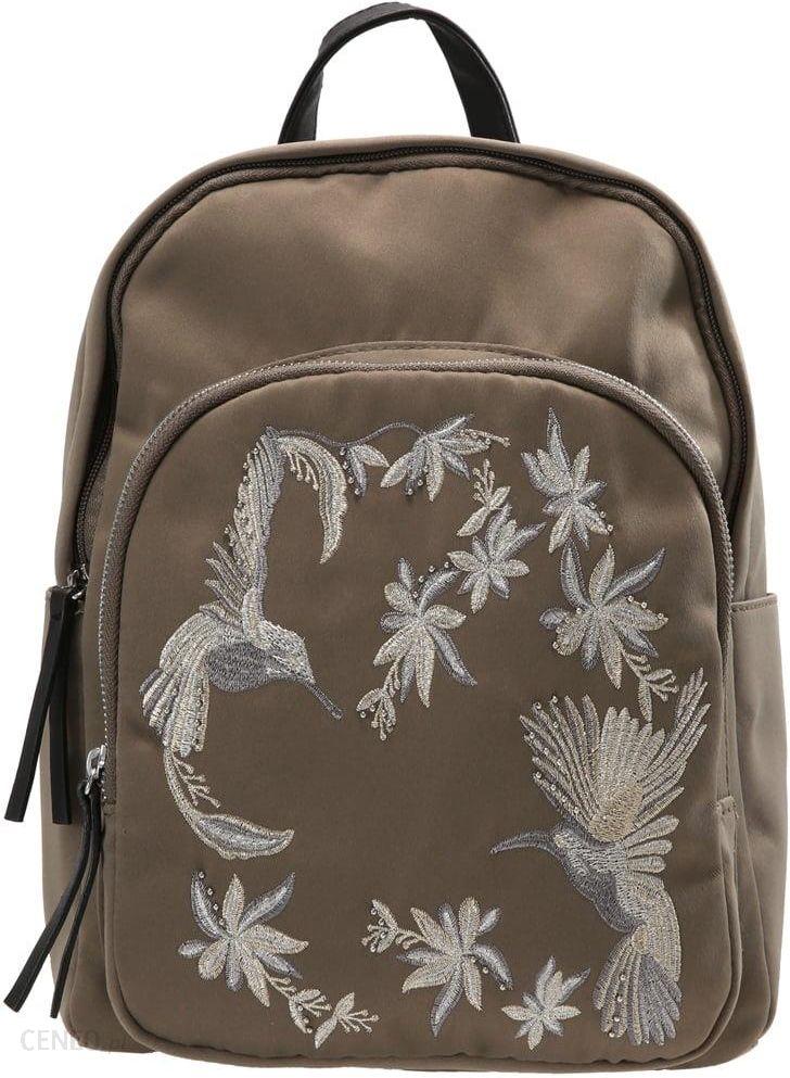 88fcd34bfe0cd Plecak New Look Bird Embroided Dark Khaki - Ceny i opinie - Ceneo.pl