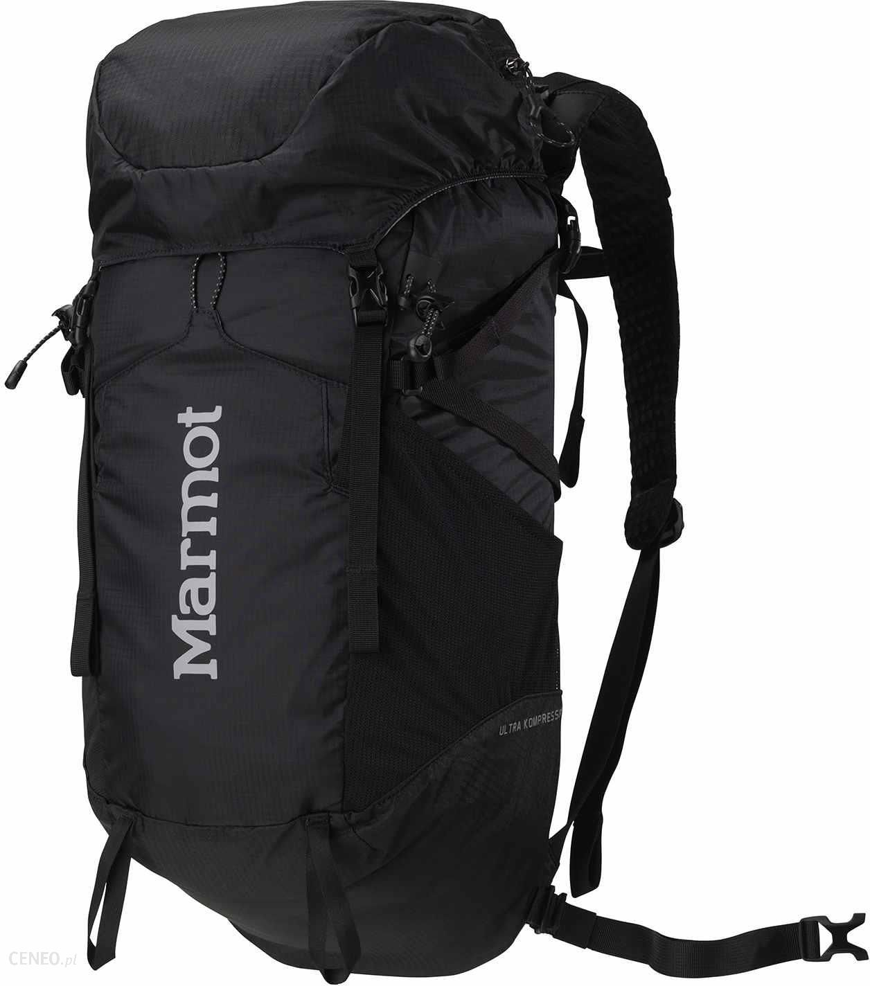376e39472e69a Plecak Marmot Turystyczny Ultra Kompressor Black - Ceny i opinie ...