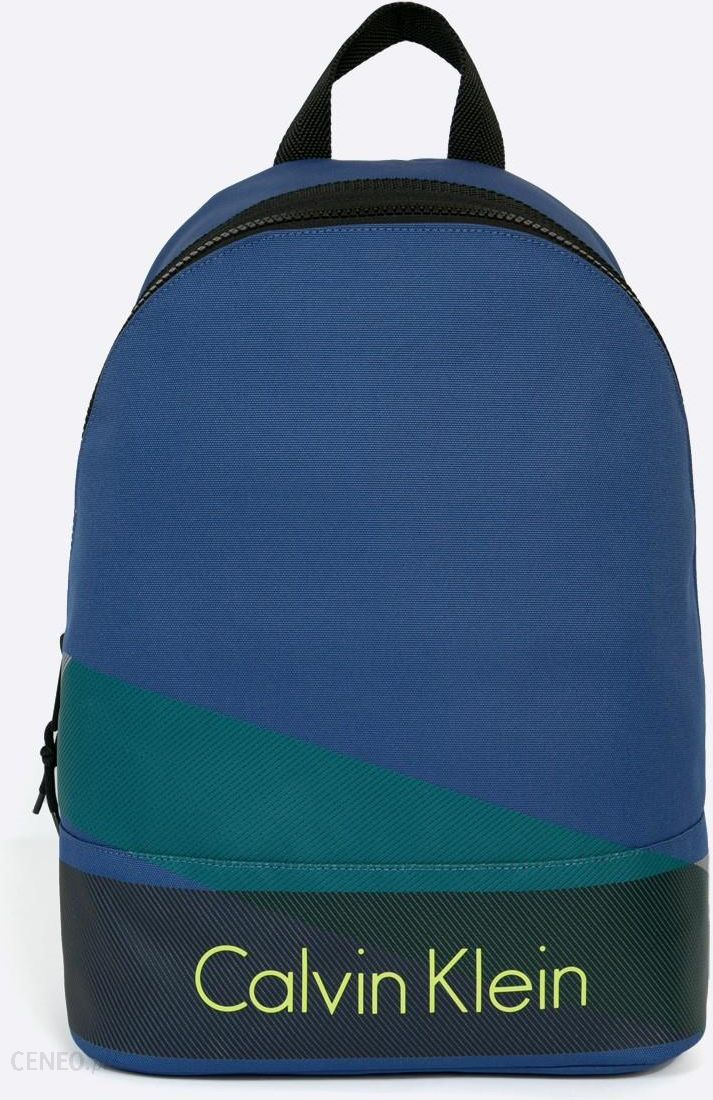 dd2be4257be74 Plecak Calvin Klein Jeans Plecak Niebieski - Ceny i opinie - Ceneo.pl