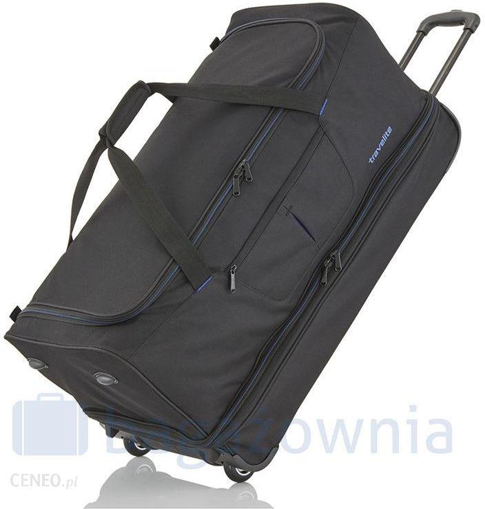 9f4005dc68b43 Torba podróżna na kołach TRAVELITE BASIC 96300-01 Czarna - czarny - zdjęcie  1