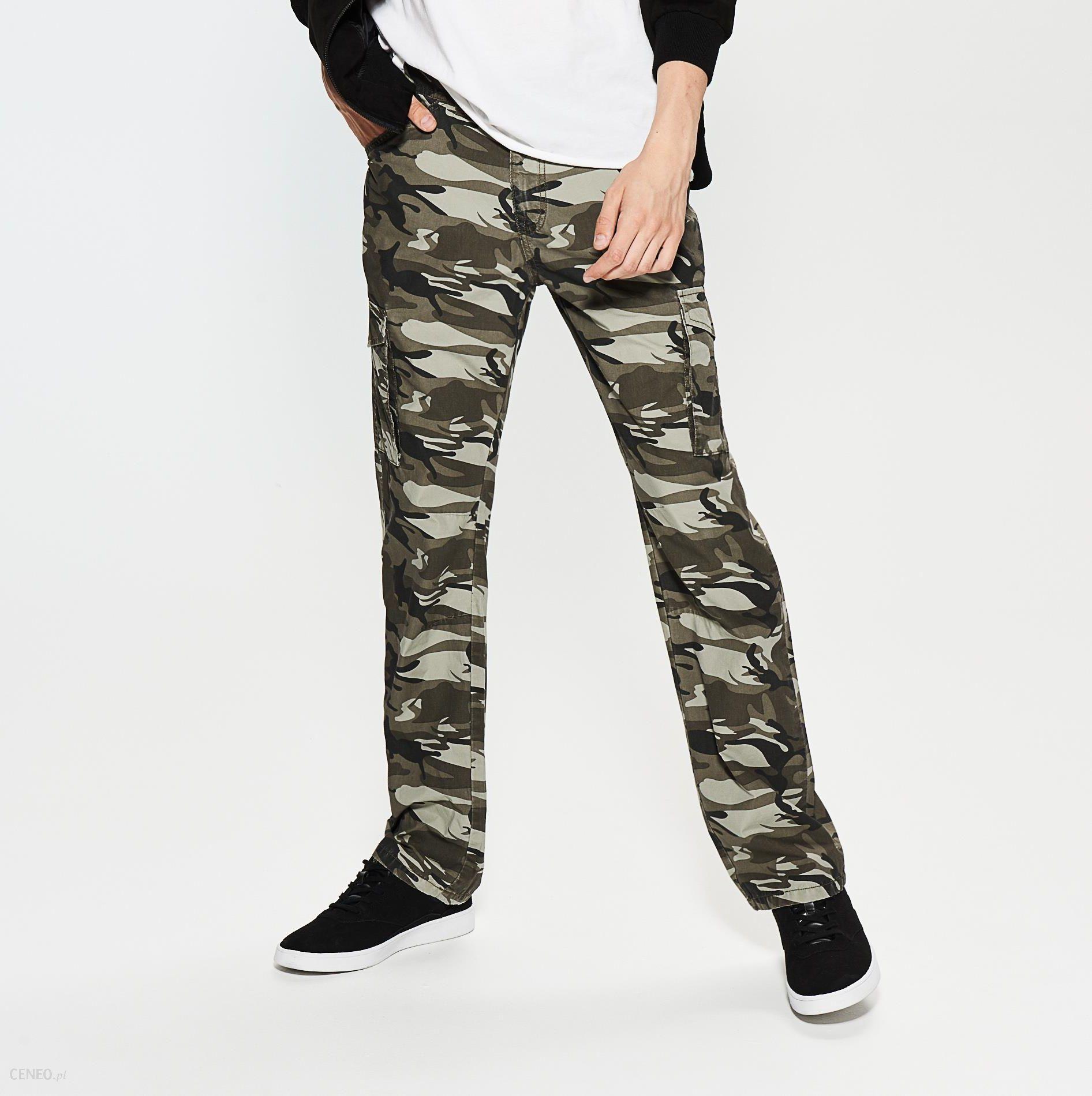 2b8cec6c83 House - Bawełniane spodnie moro - Wielobarwn - damski - Ceny i ...