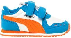 Puma Buty Sportowe Dziecięce Cabana Racer Sl V Ps Białe ggi